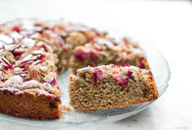 Rhabarberkuchen – so ist Kuchen auch gesund